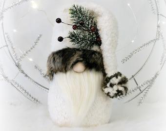 Ivory & Fur Woodland Nordic Gnome, Tomte, Nisse, Gnome, Scandinavian Gnome, Fredrik