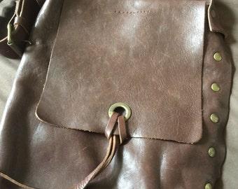 Vintage Leather Shoulder Bag Purse