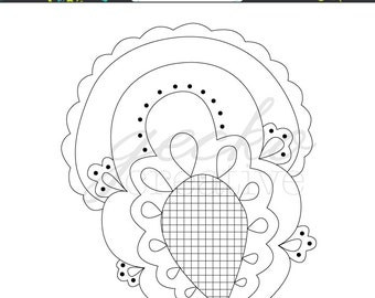 Embroidery Pattern: Pineapple Poll PDF