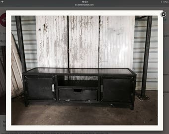Order 83 industrial furniture wood and steel