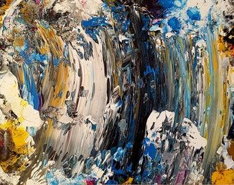 Big Wave Original Abstract Painting Abstract
