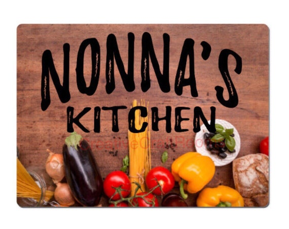 Nonna Glass cutting board, Nonna's Kitchen glass cutting board, Nonna's cutting board, Nonna's chopping board, Nonna's kitchen cutting board