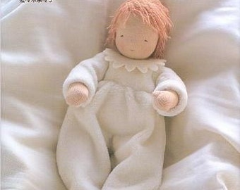 Heart WARMING WALDORF DOLLS - Japanese Craft Book