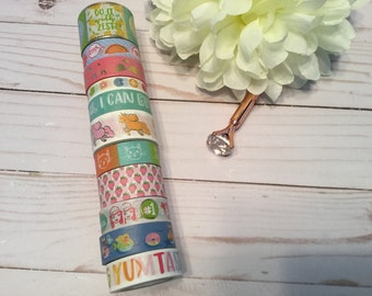 "Lollipalooza Washi Tape Samples | 24"" sample"