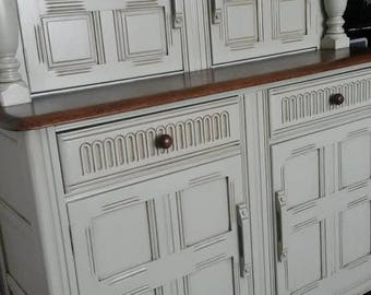 SOLD - Amazing Antique Buffet Sideboard.