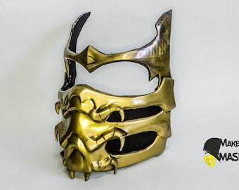 Cosplay Replica Mask Mortal Kombat X Scorpion