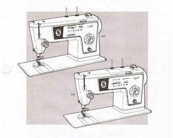pdf singer 237 sewing machine service repair adjusters manual rh etsy com Singer Sewing Machine Service Manuals Singer Treadle Sewing Machine Manual