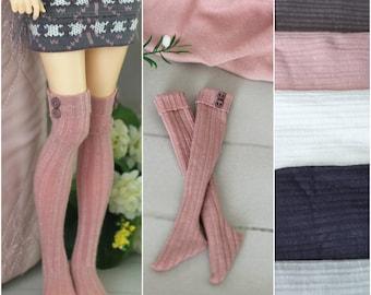 5 colors of half-stockings  for Minifee, Unoa, Narae, MSD BJD dolls 1/4 size