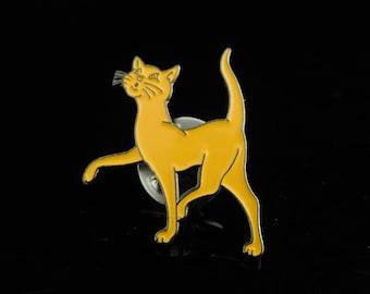 Vintage LOGO PIN, Badge, Miniature Toys, Katjes Cat, Promotion Pin, Enamel Cat Badge, Pinback Button, Fan pin, Patche, Pins, Badge, Clip Art