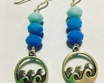 Ocean Waves Earrings