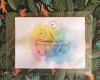 Cup of Coffee- Blank Cards