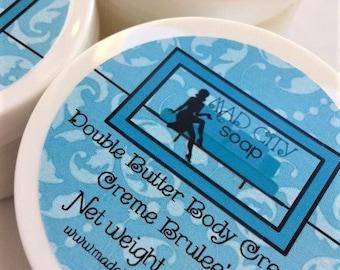 Persephone's Kiss Double Butter Body Cream 4 oz. Vegan Body Cream. Hand Cream. Moisturizer