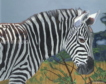 Zebra,Zebras,Zebra Print , Wildlife Art , Zebra Art, Zebra Painting, Zebra Gifts,Zebra Paintings ,Wildlife  Prints,Wildlife Art Prints.