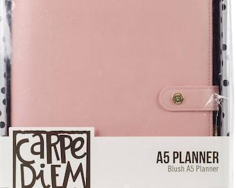 Carpe Diem A5 Planner Binder ONLY - Blush