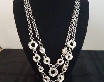 Handmade Chainmaille Stainless Steel Necklace