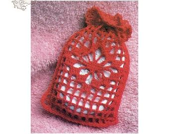 Crochet Pattern   Spider Web Soap Bag Pattern   Soap bag Pattern   Crochet Decore Accessory   Decore Pattern   Vintage Pattern