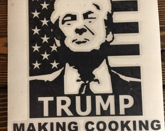 Trump instant pot decal