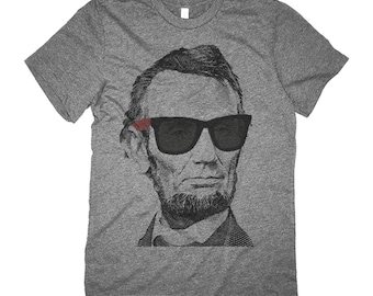 Abraham Lincoln Shirt - Cool Abe Lincoln Shades Retro Shirt