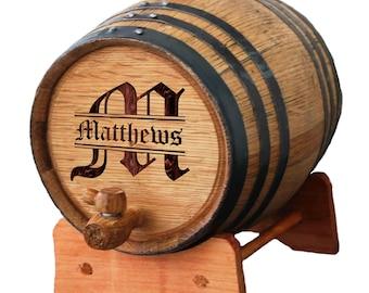 Mini Oak Whiskey Barrel Keg, Custom Whisky Barrel, Engraved Wine Barrel, Personalized Bourbon Barrel, Whiskey Gift, 1,2 or 3 Liter Barrel