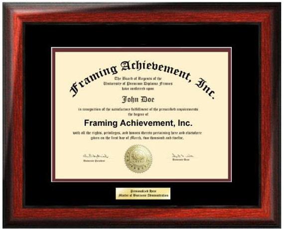 Diploma Frame University Diploma Plaques Certificate Frames Framing ...