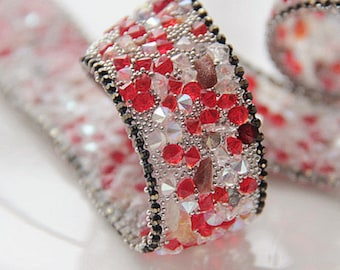 Width 2cm Crystal Hand sewing bead crystal lace sparkling clothes edge clothing accessories DIY dress wedding accessory