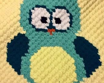 Owl Small Afghan