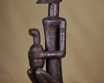 African statue, Dogon ethnic group from Mali