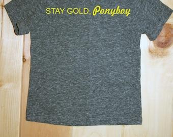Stay Gold Ponyboy Tee