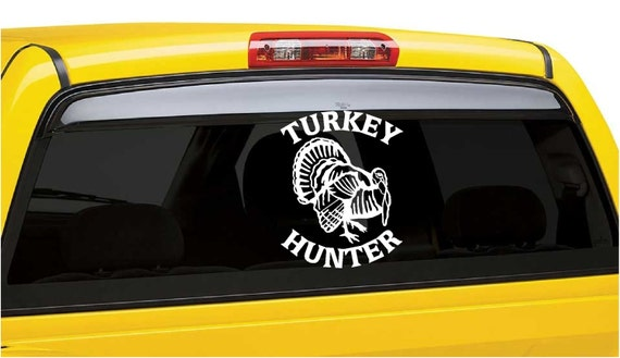 Turkey Hunter Decal - Gobbler Hunter - Turkey Hunting - Hunting Decal - Turkey Decal - Vinyl Graphics - Hunting Sticker - Turkey Sticker