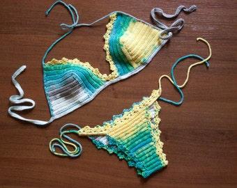 Crochet  Sexy Bikini, Women Swimwear, Beach Wear,  Summer Trends !!! LoveKnittings