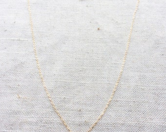 Aquamarine Necklace, Aquamarine Jewelry, Aquamarine, Aquamarine Crystal, Aquamarine Stone, Gold Dainty Necklace, Dainty Necklace, Tiny, BN3