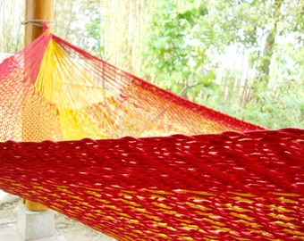 Sunset  hammock,Mexican inter-looping, Family size
