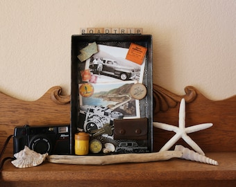 Road Trip _ Found Object Assemblage