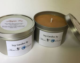 Apple Pie 8oz Soy Candle