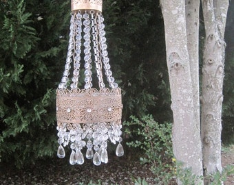 French Empire Antique Inspired Candle Votive Chandelier MADE TO ORDER