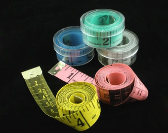 "1 piece Measuring Tape Craft Tools -   60 "" (150 cm) - 5 Colors Available"