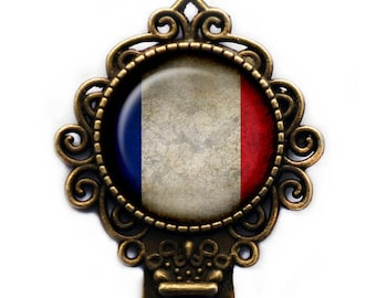 France French Flag Bookmark