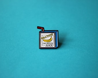 Buster Bluth's Unlimited Juice Box Enamel Pin - Arrested Development