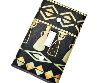 African Themed Home Decor | Ethnic Decor | Ethnic Wall Decor | African Art | Light Switch Cover | African-American | Suiteplat