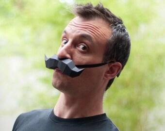Moustache - DIY Papercraft Kit (pre-cut)