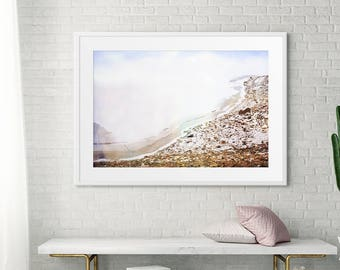 Minimalist Landscape Art Fine Art Photography for a  Modern Living Room Wall// Large Scale Art Print // Nature Landscape Photography - Bare