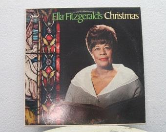 """Ella Fitzgerald - """"Ella Fitzgerald's Christmas"""" vinyl record"""