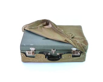 Vintage Airline Luggage Airline Baggage Suitcase Retro Suitcase from 1950s Home Decor Storage