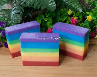 Fruity Rainbow Soap