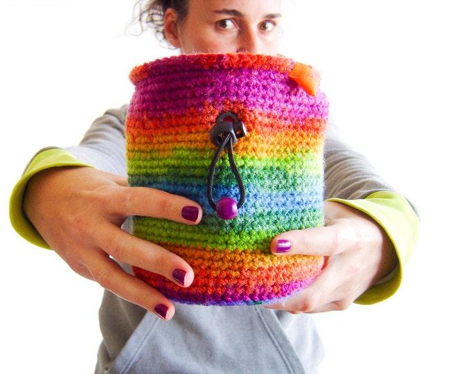 Chalk Bag For Rock Climbing, Chalk Bag For Bouldering, Chalk Bag For Big Hands XL Size