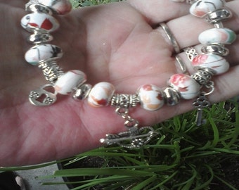 Key to my heart, Euro style bracelet