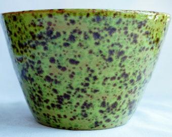 Pistachio green bowl