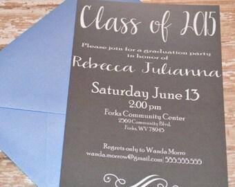 DIGITAL Graduation Invite class of 2015