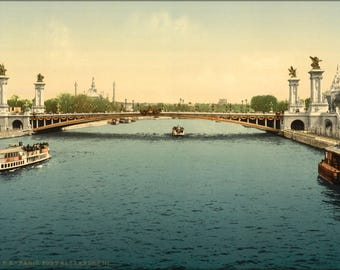 Poster, Many Sizes Available; Alexandre Iii, Bridge, Exposition Universal, 1900, Paris, France Lccn2001698569
