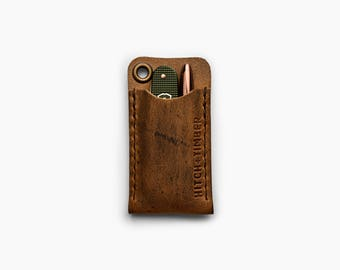 EDC Pocket Slip - Leather Sleeve for Everyday Carry